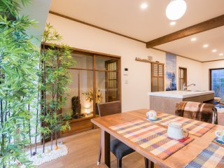 Your Pavilion near Kinkakuji - 2BR vacation home w/island kitchen
