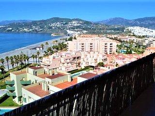 Magnifique appartement 2 chambres en bord de Méditérannée, Salobreña