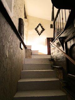 La Maison de Saint Victor - Accès privatif à la suite familiale