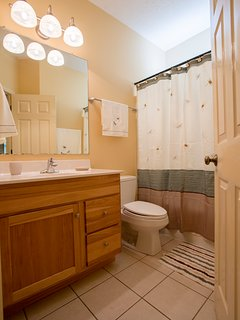 Main level second bathroom