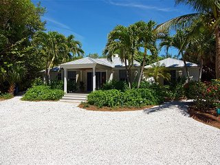 Captiva beach house with boat dock and easy beach access
