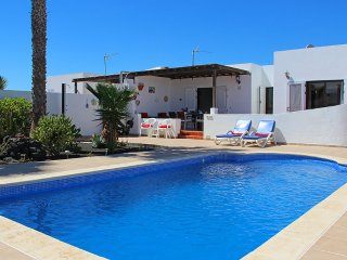 Two bedroom villa with private pool and sea views