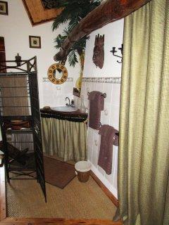Cabinet de toilette de la chambre Africaine