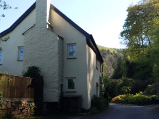 The Mill House, a modernised 2-bedroom 18th century character cottage in Exmoor
