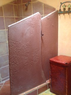 the big shower. . .