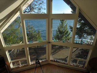 Spectacular Hood Canal Views/Olympic National Park/Waterfront House, Brinnon