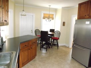 Well equipped kitchen with breakfast nook