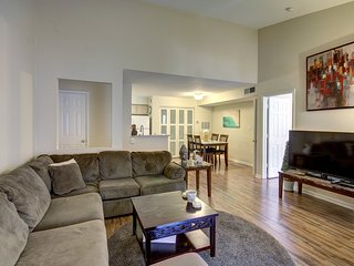 Open space to dinning room