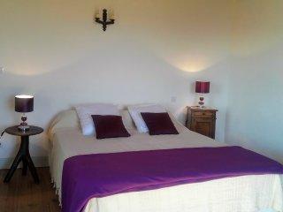 chambre avec 1 lit de 160