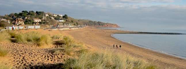 Exmouth beach is around 20 mins by bus, train or car and a lovely 40 min bike ride