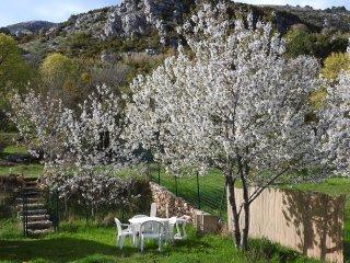 En pleine nature, independant avec jardin cloture