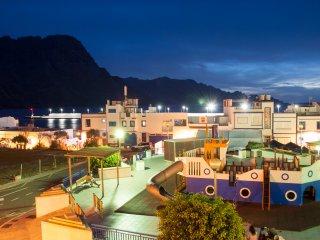 Apartamento con Vistas al Mar y a las Montanas Puerto de Las Nieves