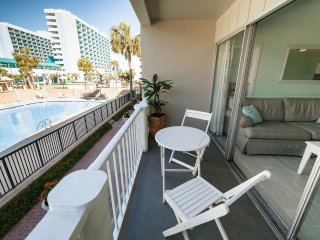 30 Second Walk To Beach; Balcony overlooking Pool Area: Beach Home
