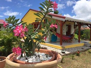 Bungalow Kaladja** - Les Palmes du Moulin - Location de gîtes à Marie-Galante