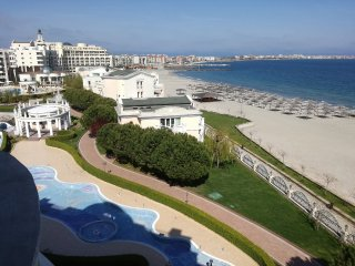 R) Sunset Resort, Pomorie, Bulgaria, SEA VIEW, Lg. 2 bed apt. in Alpha Building.