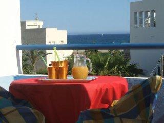 casa azahara, chalet adosado,linea playa, 4 piscinas, parking
