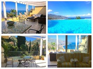 PANORAMIC PENTHOUSE with Terrace Pool & View Taormina