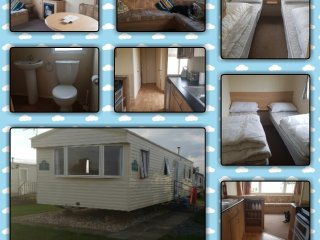 8 berth Caravan for hire, Happy Days, Chapel st Leonards