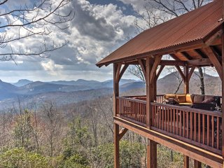 New! Luxurious 4BR Sapphire Cabin w/Unrivaled Views