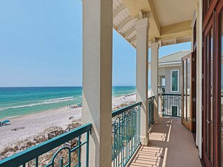 Amazing beach front home w/elevator!!! Enjoy views from all levels & hot tub!!!