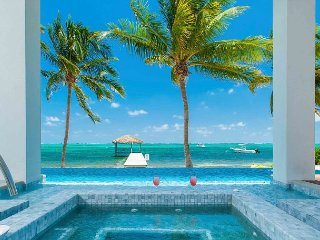 SUMMER SPECIAL—6BR Oceanfront Estate—Point of View by Luxury Cayman Villas