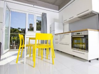 Studio apt with garden view 4 adults - RM 21, San Ġiljan