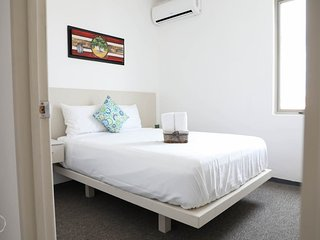 Zazil - Ha Apartment  is a 2 Bedroom at 1 Block of 5 Av.