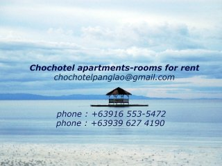 Chochotel Panglao Apartments and rooms for rent