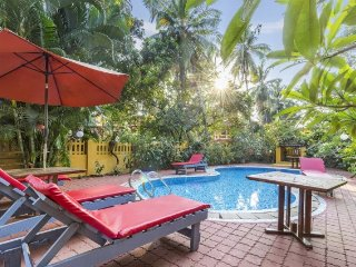 2 BHK villa with a pool, 1 km from Calangute Beach