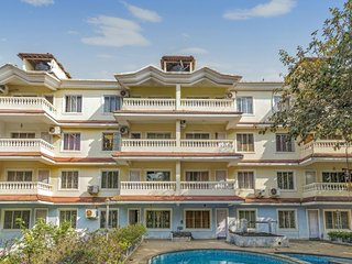 1 BHK for a small group, 1.7 km from Anjuna Beach