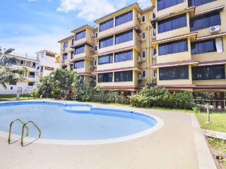 Tranquil 1 BHK with a pool, 1.1 km from Vagator Beach