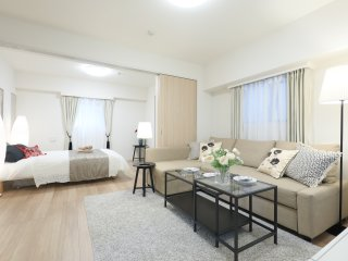 Cute room!/Tsukiji/Ginza/2mins fromsta /5ppl