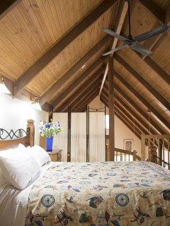 Main bedroom on the top floor