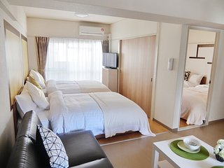Namba Cozy apartment, 4 Comfortable beds, WiFi