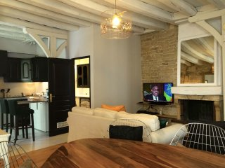 A 2 bedroom 1 bathroom  apartment in a prime  historical city  center of DIJON