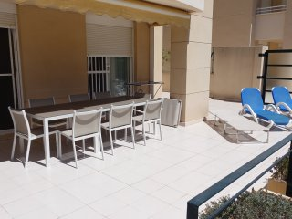 Golden Beach 1, 120m2 Terrasse, WIFI, Arenal, Javea