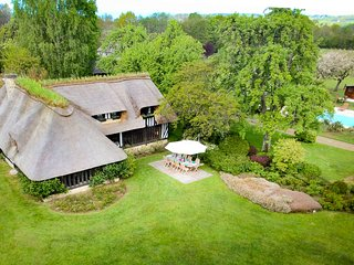 La Source: a magical house in pristine Normandy 'Bocage', 4 kms from Deauville