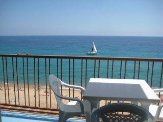 Apartamento primera linea de playa en Blanes Espana