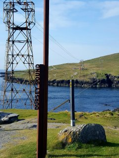 Dursey island cable car is a 5 minute walk from the house