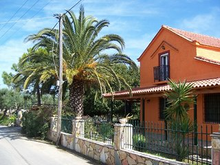 Villa Angeliki is a lovely house with style and a fantastic garden full of trees