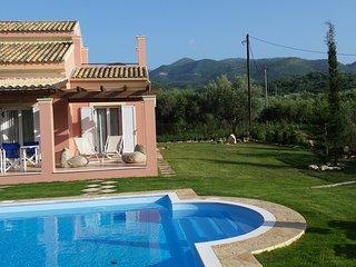 Villa Filia no 5 with pool in Almiros beach, Acharavi, Corfu.
