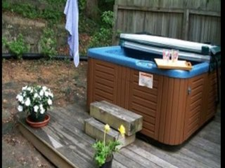 Private hot tub, Mtn view, trout stocked broad river, cozy mtn home!
