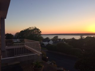 Set in quiet residential area with outstanding view over the Menai Straits, Caernarfon