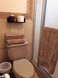 Second bathroom. Toilet.