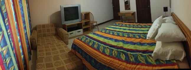 Main bedroom. Panoramic view.