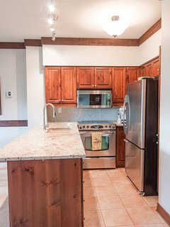Renovated Kitchen with stainless appliances