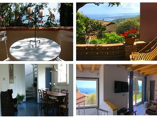 MARGOT'S HOUSE vista del Etna + Sea