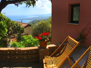 TAORMINA MARGOT'S HOUSE Etna + Sea View Terrace