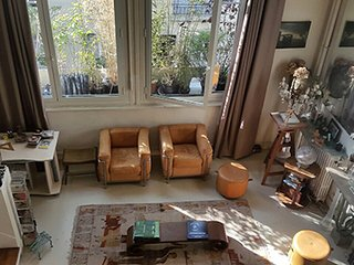 Amazing artist's studio in Montparnasse