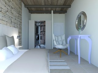 Newly Build Pool Villa Elpida at Falassarna, near the Beach
